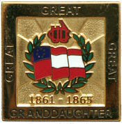 3-Greats Granddaughters Pin